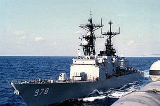 USS <i>Stump</i> Spruance-class destroyer