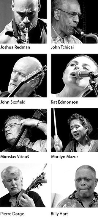 Aarhus International Jazz Festival - A selection of artists that have played Aarhus Jazz Festival