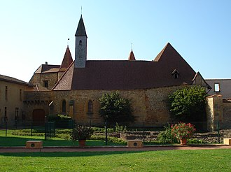 Charlieu - The abbey in Charlieu