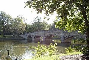 Abbey Park, Leicester - Bridge over River Soar, Abbey Park