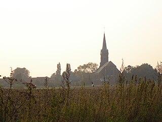 Abele (village) human settlement in Belgium