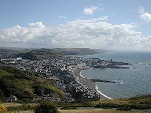 Aberystwyth - Image: Aberystwyth shore