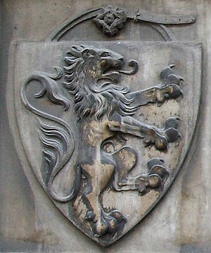 Acciaioli family - Coat of arms, Santa Maria Novella