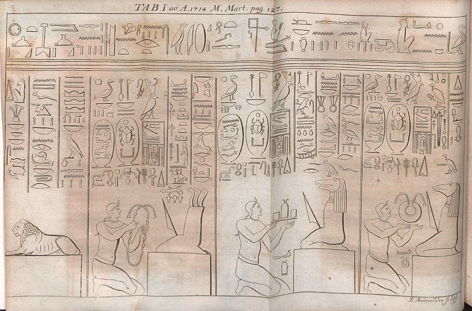 Acta Eruditorum - I geroglifici, 1714 – BEIC 13384397