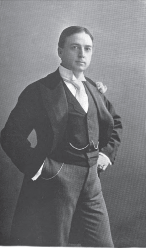 Chauncey Olcott - Actor Chauncey Olcott, c. 1896, photo by W. M. Morrison