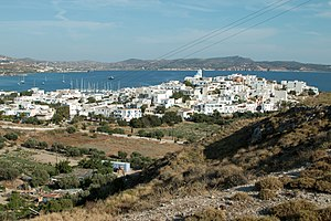 Milos - The port of Adamas