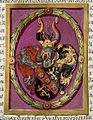 Adelsdiplom Jacob von Fridrich 1630 Wappen.jpg