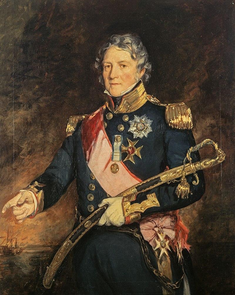 Адмирал сэр Филип Чарльз Хендерсон Колдервуд Дарем, сэр Фрэнсис Грант около 1830 г. 01.jpg