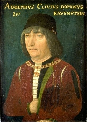 Adolph of Cleves, Lord of Ravenstein - Portrait of Adolph of Cleves, Lord of Ravenstein.
