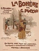 Advertisement for the music score of La Bohème, 1895.jpg