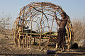 Afar hut under construction.jpg