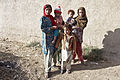 Afghan girls stand together in the village of Mullayan, in Kandahar province, Afghanistan, Oct. 31, 2011 111031-A-VB845-092.jpg