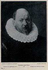 Portrait of a man in a ruff collar