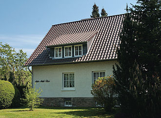 Agnes Miegel - The Agnes-Miegel-Haus in Bad Nenndorf