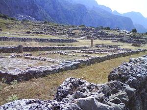 Elaea (Epirus) - Image: Agora of Elaea