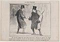 Ah! monsieur Gobinet, dans quel temps vivons-nous!..., from Ces Bons Parisiens, published in Le Charivari, Sepetember 23, 1857 MET DP876666.jpg