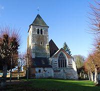 Ailly - Eglise Saint-Médard XIIe, XVIe & XVIIe (Part. ISMH).JPG