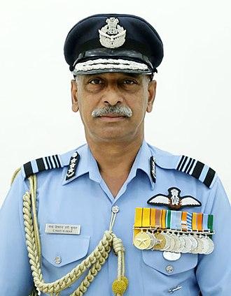 Chandrashekharan Hari Kumar - Image: Air Marshal Chandrashekharan Hari Kumar Indian Air Force