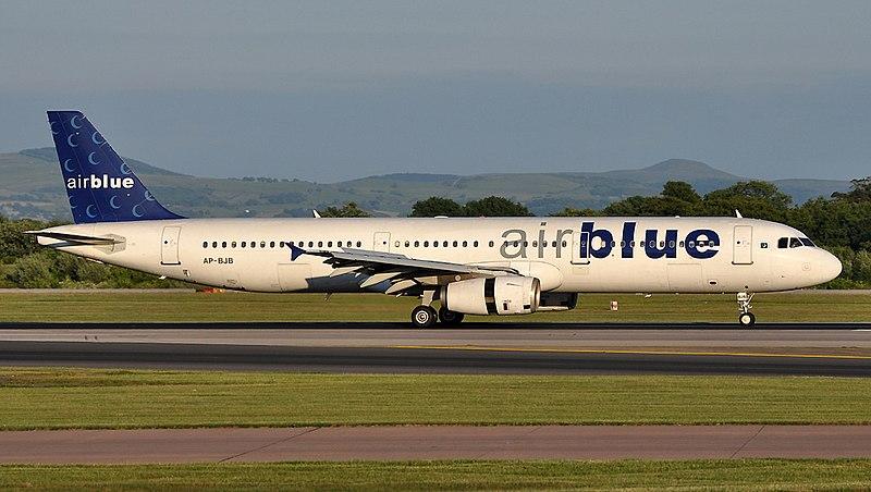 Airblue 소속 202편(A321)
