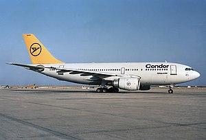 Condor Flugdienst - Condor Airbus A310-200 in 1987