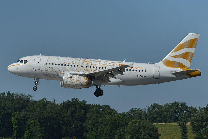 """File:Airbus A319-100 British AW (BAW) """"The Dove"""" G-EUOH - MSN 1604 (9655043247).jpg"""