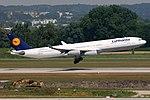 Airbus A340-313X Lufthansa D-AIFC (9345156086).jpg