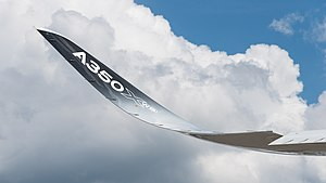 Wingtip device - The Airbus A350 wingtip