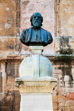 Nicolas-Claude Fabri de Peiresc - Bust of Peiresc in Aix-en-Provence.