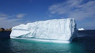 Alanngorsuaq Fjord - Image: Alanngorsuaq fjordmouth labrador sea iceberg