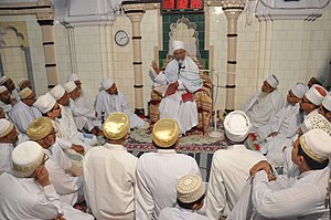 Alavi Bohras - Aqaa Maulaa, the then Mazoon e Mutlaq visited Fakhri Masjid in Moharram 1436 AH/2014 AD on the death anniversary of Saiyedi Musanji bin Taaj saheb