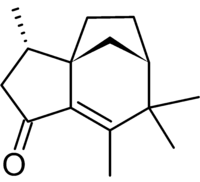 Chemical structure of Albaflavenone