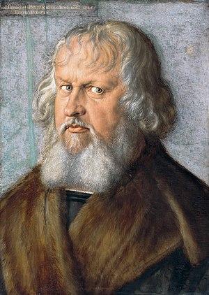 Portrait of Hieronymus Holzschuher - Image: Albrecht Dürer 078