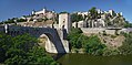 Alcantara Bridge and Alcázar. Toledo, Spain.jpg