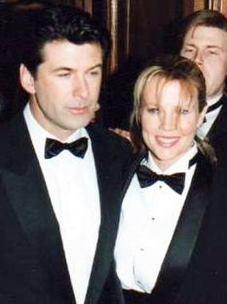 Kim Basinger - With Alec Baldwin at the 19th César Awards at the Théâtre du Châtelet in Paris, France, in February 1994
