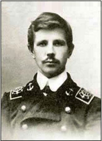Alexander Kuchin - Aleksandr Stepanovich Kuchin, captain of the ill-fated ship Gerkules.