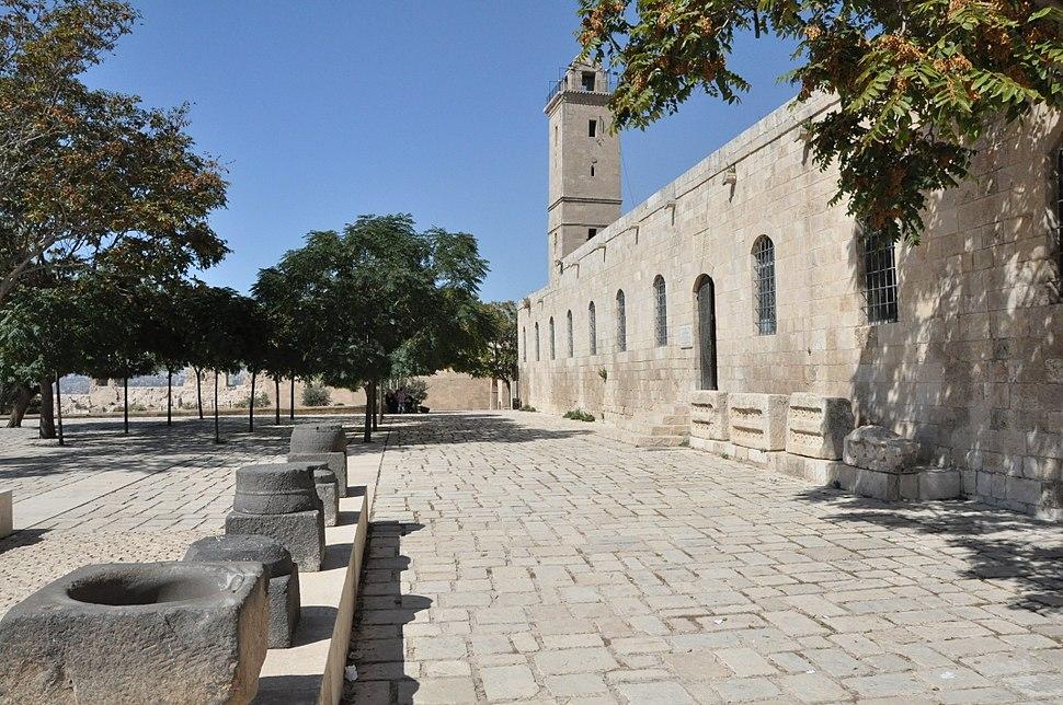 Aleppo citadel Museum laz