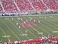 Alex Smith Passing, University of Utah Utes 41, Texas A&M University Aggies 21, Rice-Eccles Stadium, Salt Lake City, Utah (68884290).jpg