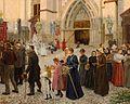 Alexander Demetrius Goltz - Procession At The Basilika von Mariazell.jpg