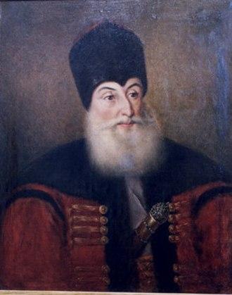 Alexandros Soutzos - Portrait