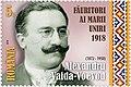 Alexandru Vaida-Voevod 2018 stamp of Romania.jpg