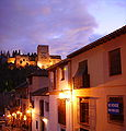 Alhambra at night from Albaicin GM.JPG