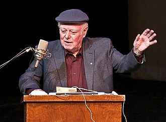 International Dublin Literary Award - Image: Alistair Mac Leod reading at Cape Breton University