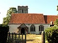 All Saints' church, Shelley, Suffolk - geograph.org.uk - 214762.jpg