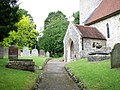 All Saints Church - churchyard - geograph.org.uk - 1349937.jpg