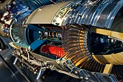 Allison T56-A1 Turboprop Engine Cutaway
