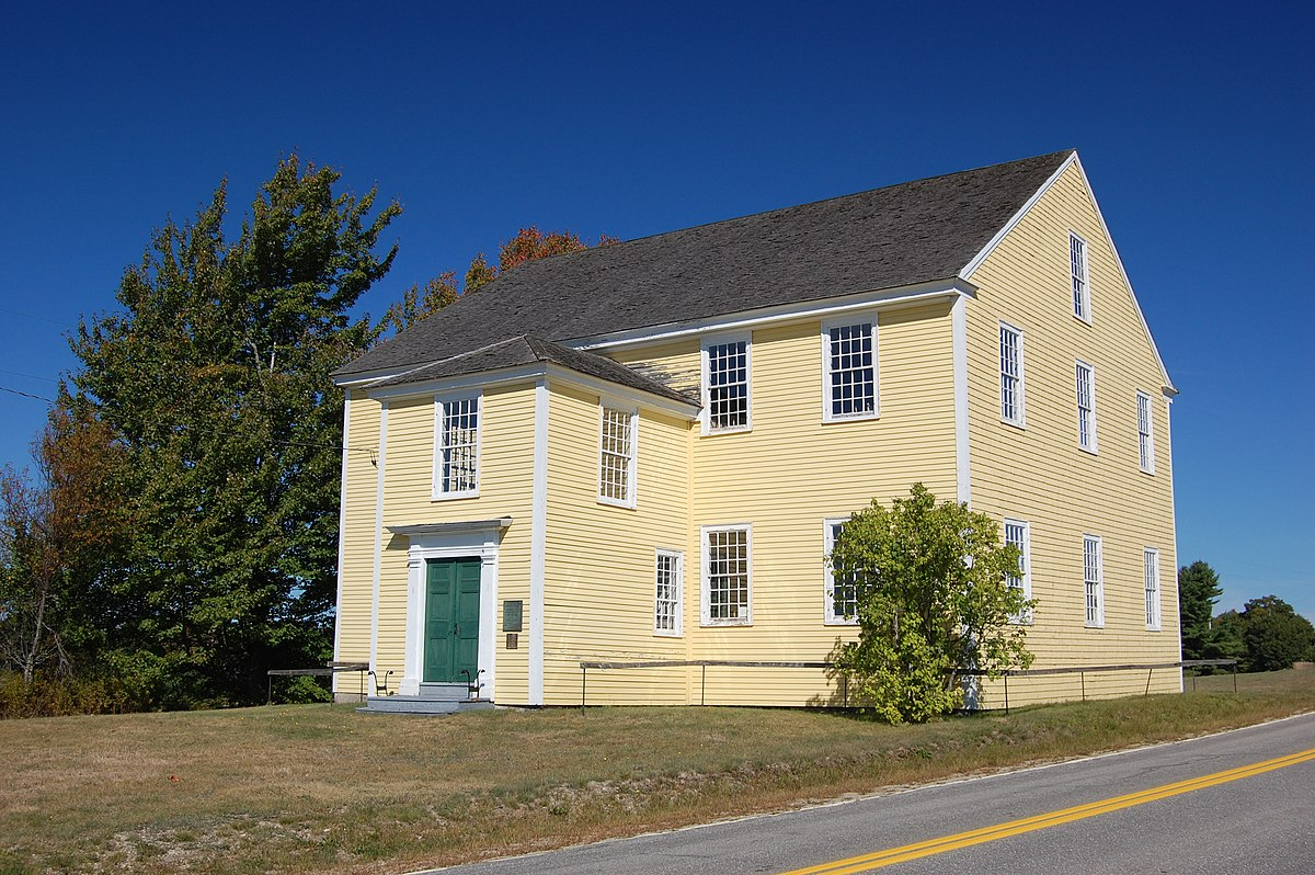 Colonial meeting house - Wikipedia