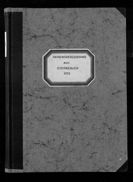 File:Alphabetisches Namensverzeichnis zum Sterberegister des Standesamtes Minden, 1973.djvu