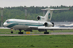 Alrosa Mirny Air Enterprise Tupolev Tu-154M