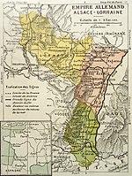 Carte Annexion Alsace Lorraine.Alsace Lorraine Wikipedia