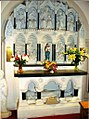 Altar piece for St Mary of the Angels Church in Worthing, Sussex.jpg
